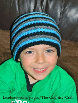 Picture of young boy wearing beanie