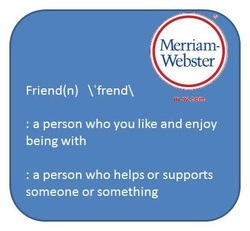 dictionary definition of friend