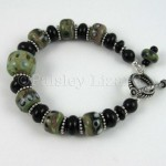 Green Caterpillar Bracelet