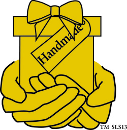 graphic of hands holding gift