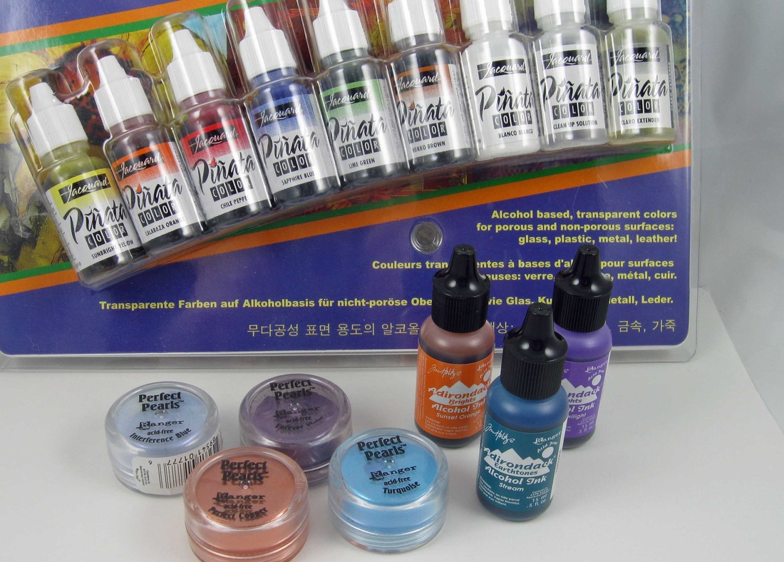Picture of art pigments