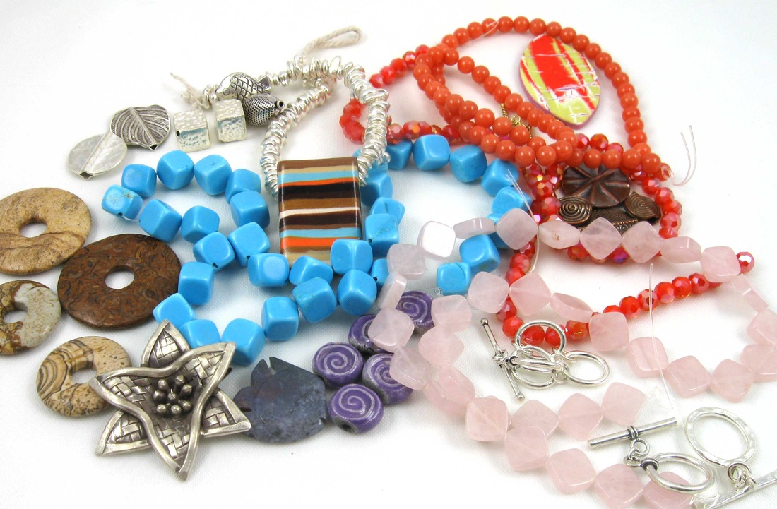 Picture of beads and pendants
