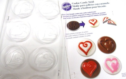 heart-shaped candy mold