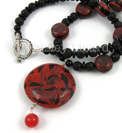 Jewelry Design Challenge Fire Element Necklace