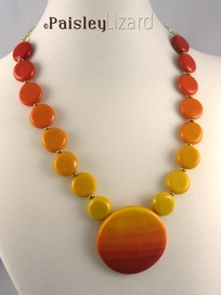 Sunrise Sunset necklace