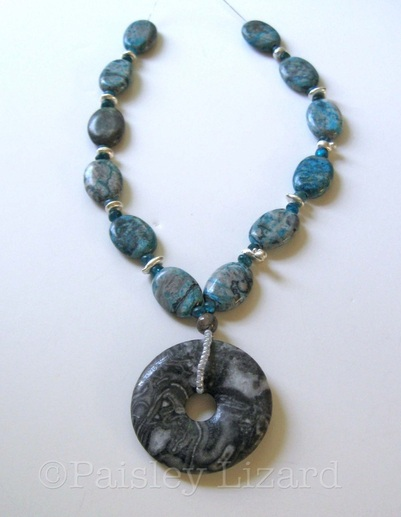 Marble Caves jewelry design necklace