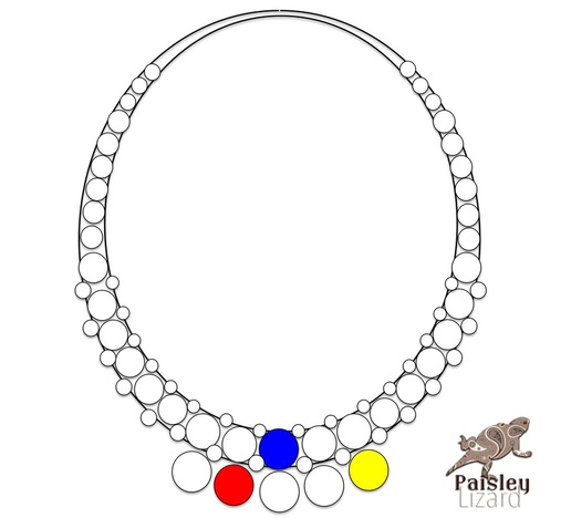 necklace design layout