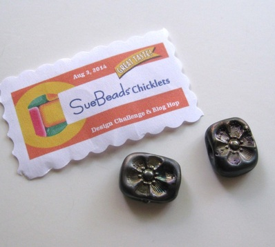Picture of lampwork beads