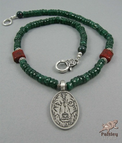Red Riding Hood Jewelry Design Challenge wolf necklace