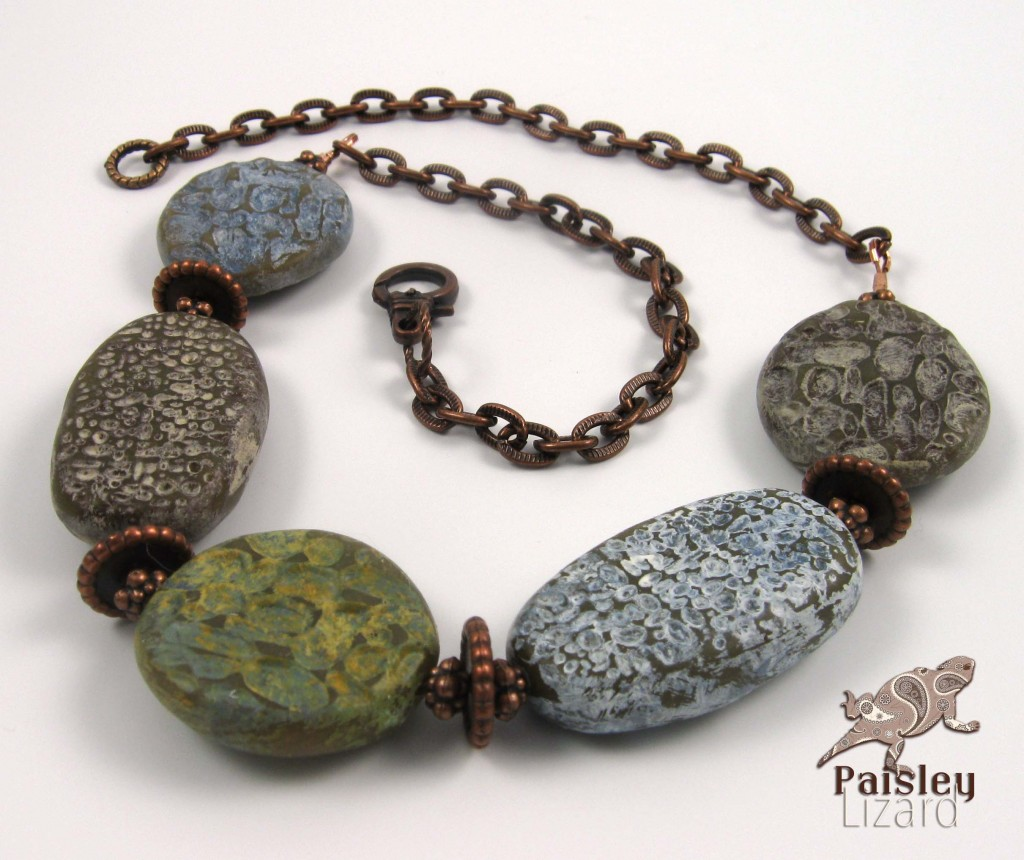 organic nuggets necklace