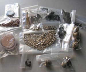 Brass stampings and components