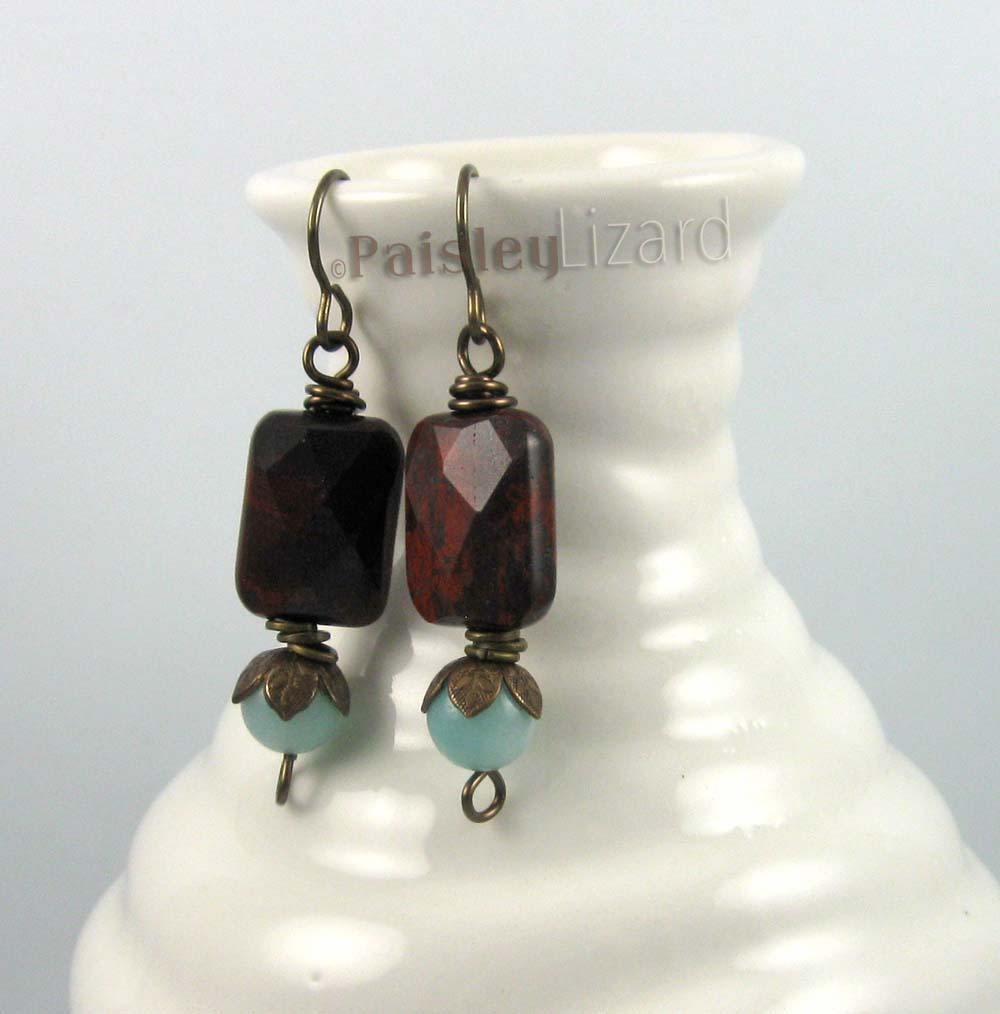 Wine al fresco earrings