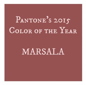 Marsala color swatch