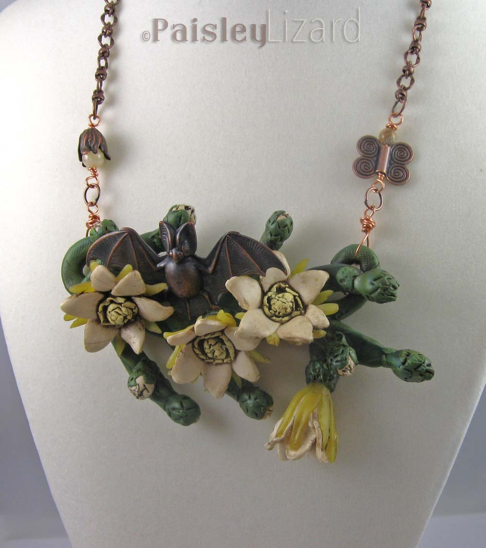 Cereus Garden Necklace