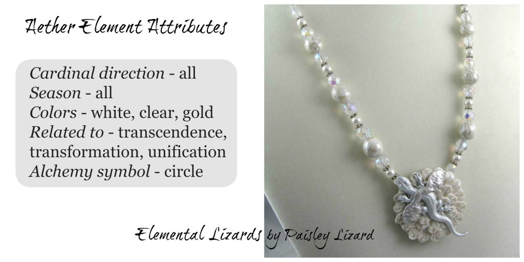 Aether Element attributes and necklace