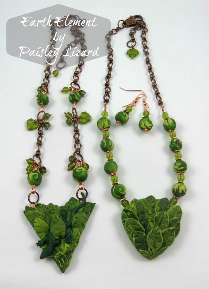 Earth Element jewelry designs