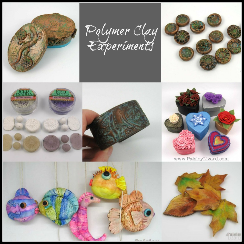 Polymer clay experiments