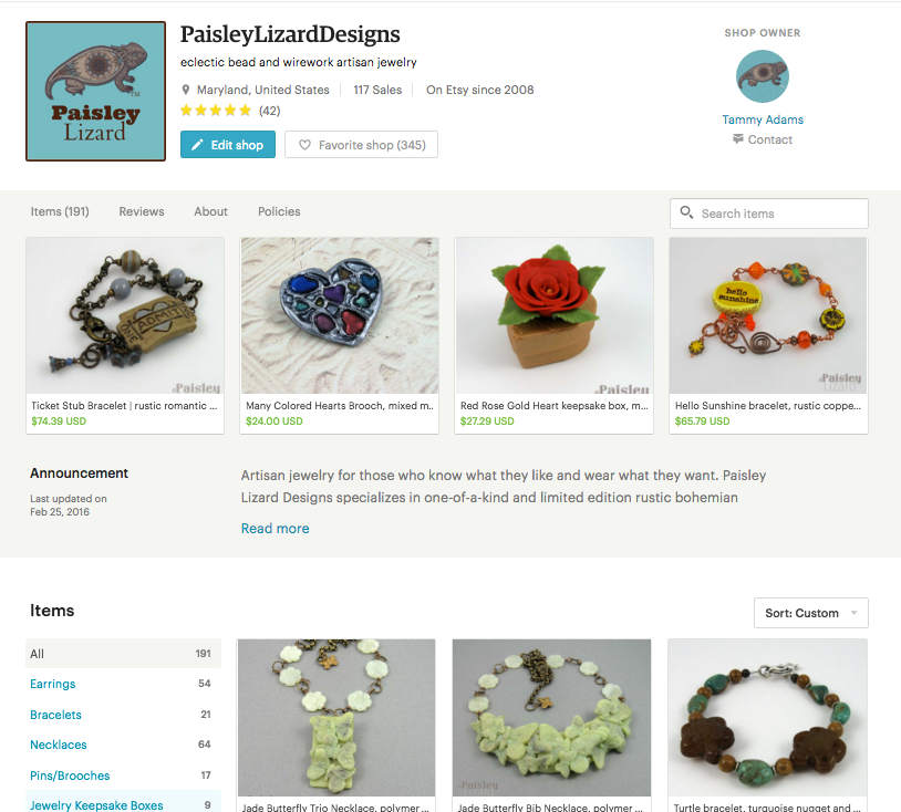 new etsy home layout