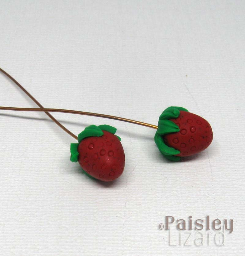 strawberry headpins