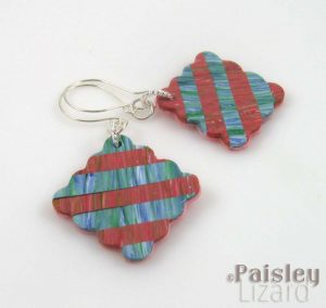 Fat Quarters earrings