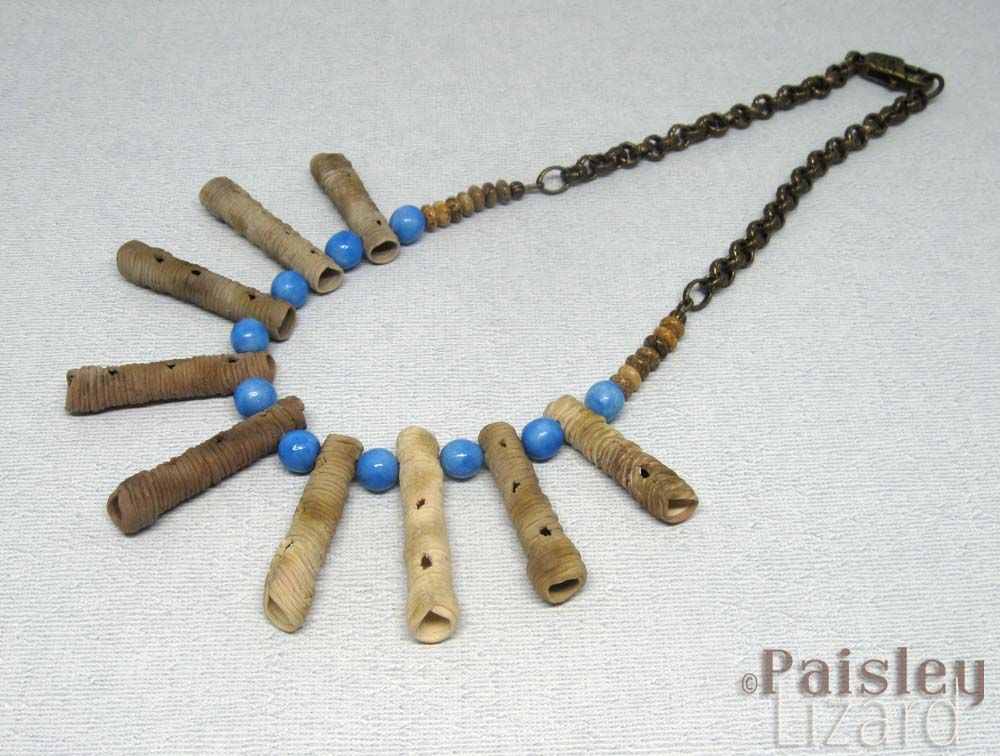 mud dauber necklace